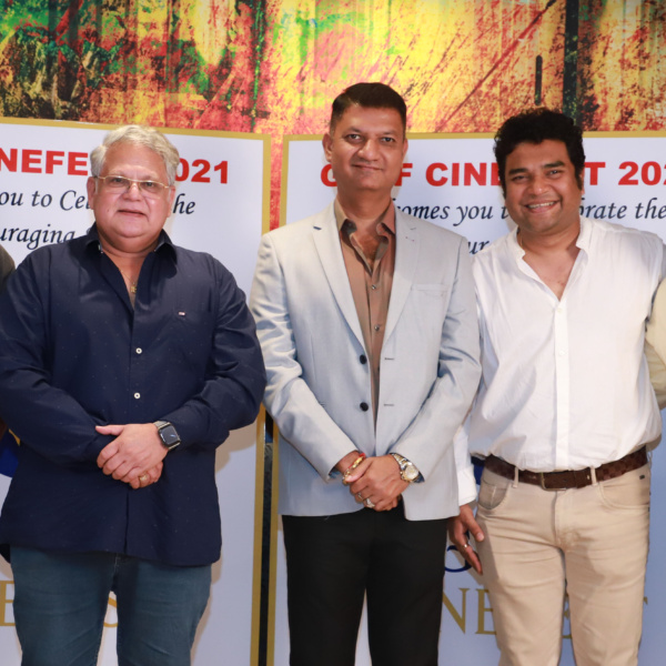 Siddharth Jadhav, Mahesh kothare at Gulf cine fest program