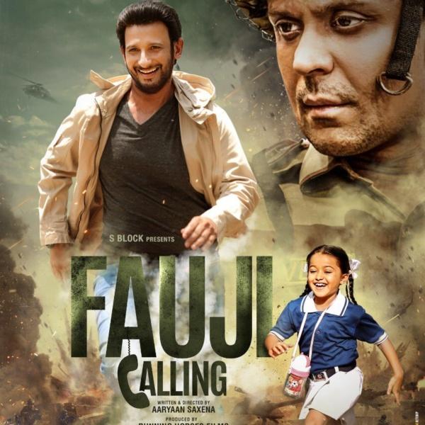 fauji calling movie poster