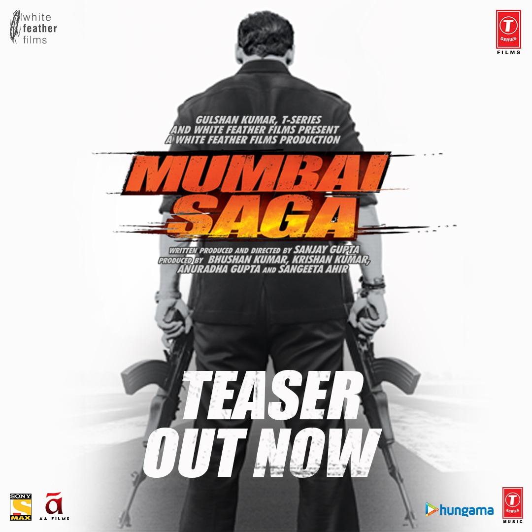 Mumbai Saga Teaser Poster