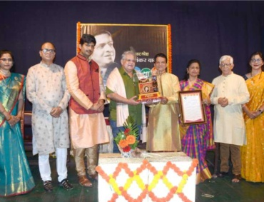 mahesh kothare awarded with kalayatri puraskar
