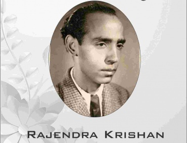 Remembering the Popular Lyricist of Hindi cinema Rajendra Krishan