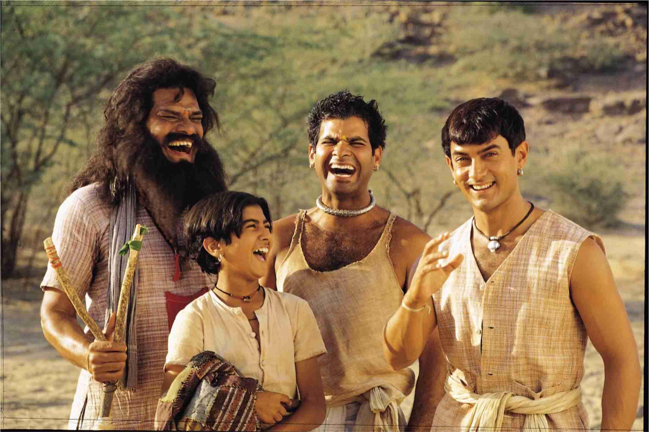 Lagaan 2001 Movie Scene